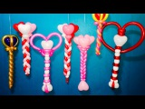 Triple Balloon Heart Wands! Twisting Tutorial