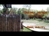 Захват лагеря в Советском парке на 9 мая (Омск, 09.05.17)