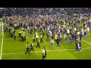 Millwall fans singing 'your fucking shit' to Bradford fans