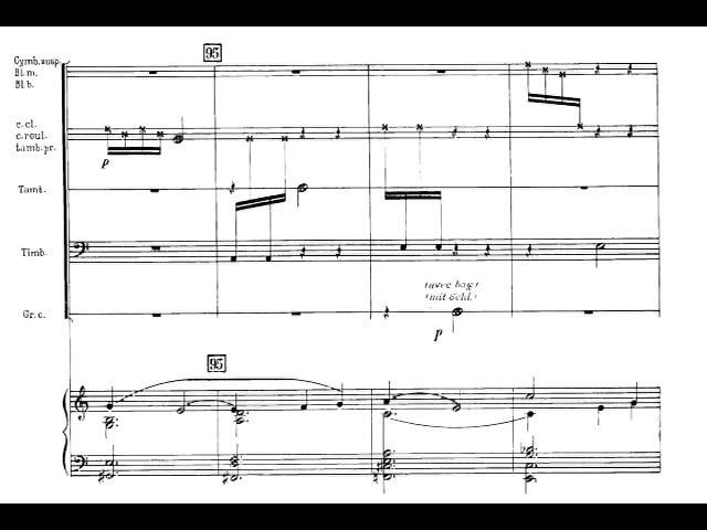 Darius Milhaud - Concerto for Percussion and Orchestra, Op. 109 (1929) [Score-Video]