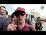 Видео года. Путиниста загребают во время рассказа о том как круто жить в свободной России
