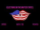 Мультфильм. Cartoon. Выборы. в США. Elections in the United States. Presidential elections USA