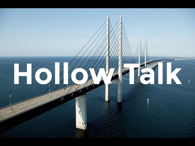 Choir of Young Believers - Hollow Talk Lyrics (from Bron/Broen)