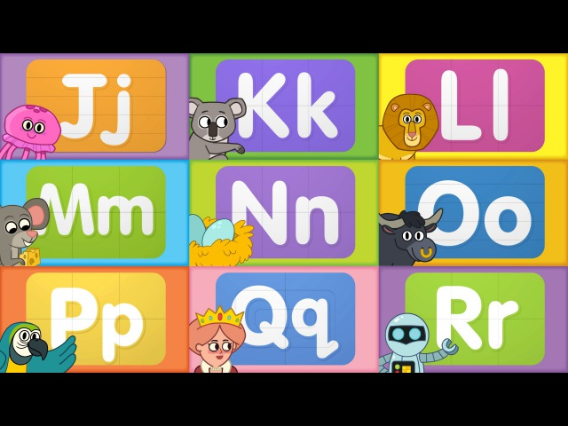 Turn Learn ABCs | Learn Letters J to R | from Super Simple Songs