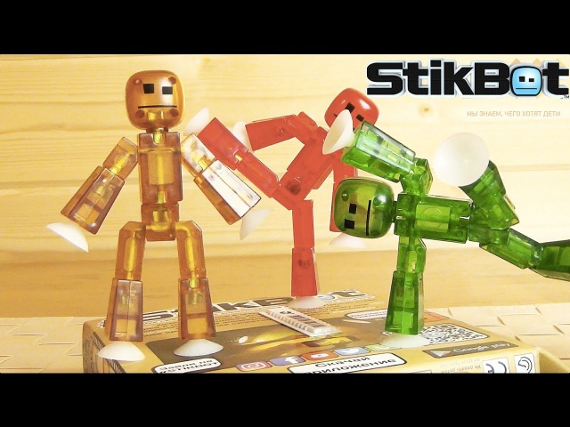 STIKBOT - Stop motion анимация у вас дома! Сделай мультик сам! STIKBOT