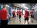 Сухая разминка сборной России по хоккею перед матчей со Швецией на Евротуре