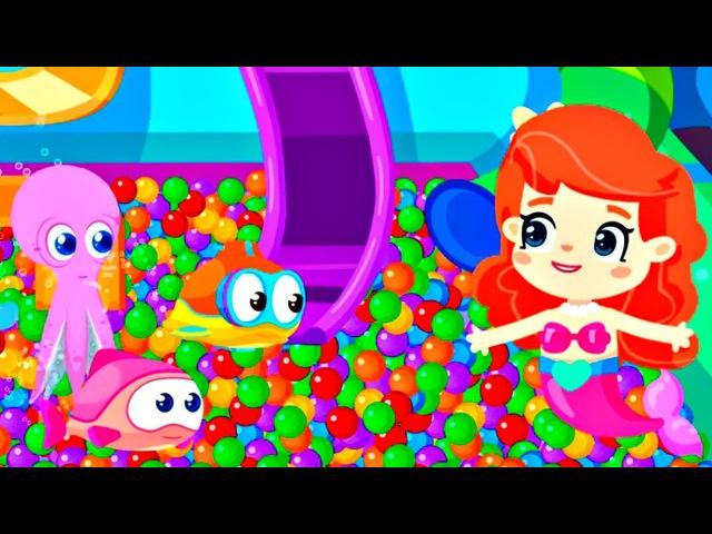 Dessin animé pour enfants de la petite Sirène épisode № 1: les poissons