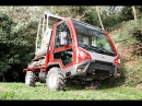 CARON C аналог AEBI TP48P RASCO MUVO транспортёр трактор с платформой 3200 кг прицеп 6000 кг