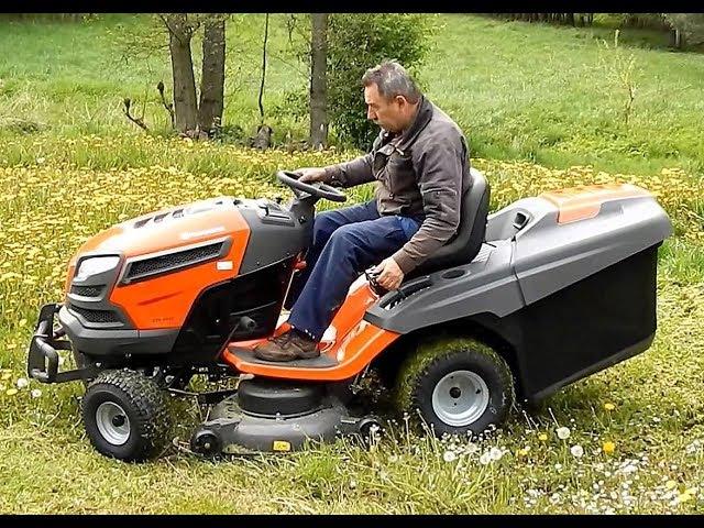 HUSQVARNA CTH 224T аналоги OM 105 20H EF 92 13H садовый трактор газонокосилка 257 кг