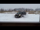 Skoda Yeti первый раз в снегу