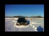 Попытка покорить снег на липучке Skoda Yeti Full HD 1080