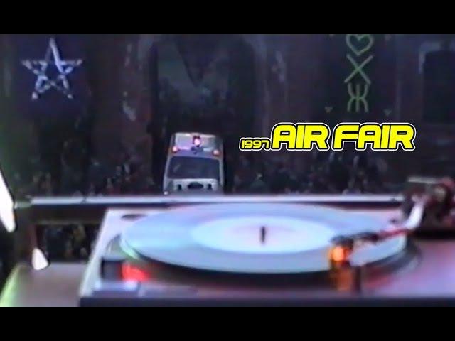 Air Fair 1997 open air RAVE IN RUSSIA Рейв на заброшке 90х