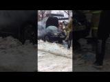 Возгорание Peugeot-307