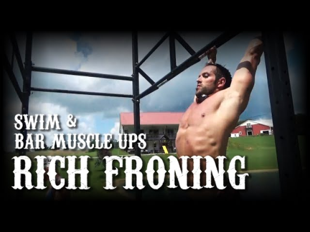Rich Froning Elly Kabboord Workout - Swimming Bar Muscle Ups
