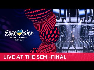 Omar Naber - On My Way (Slovenia) LIVE at the first Semi-Final