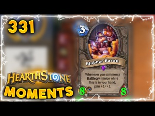 3 Mana 8/8 Minion What?? | Hearthstone Gadgetzan Daily Moments Ep. 331 (Funny and Lucky Moments)
