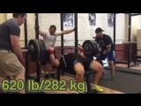 Вадим Довганюк, жим лёжа 282,5 кг