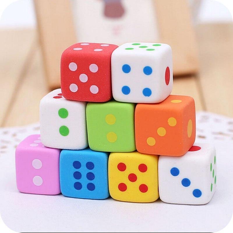 Ластик - кубик 3 шт