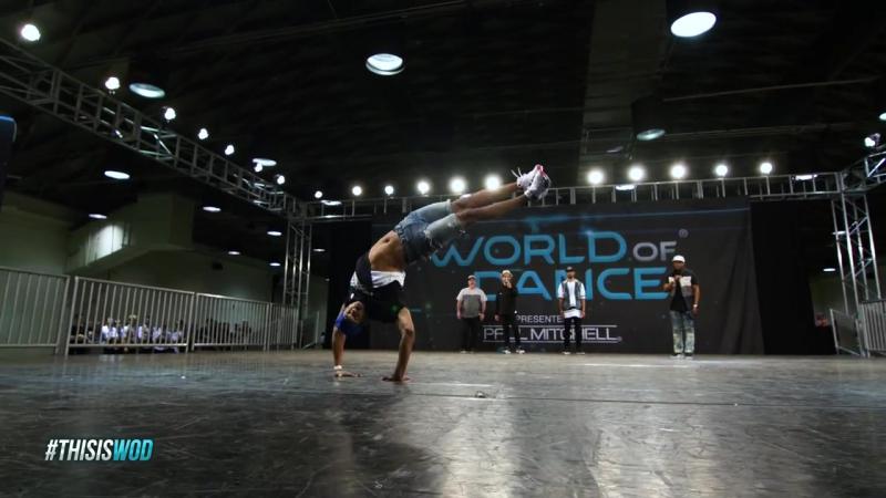 Bboy Morris   FrontRow   World of Dance Los Angeles 2017