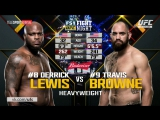 Derrick Lewis vs Travis Browne UFC Fight Night: Lewis vs Browne