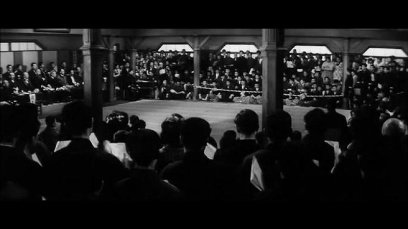 Sugata Sanshiro Гений дзюдо Боевик драма 1965