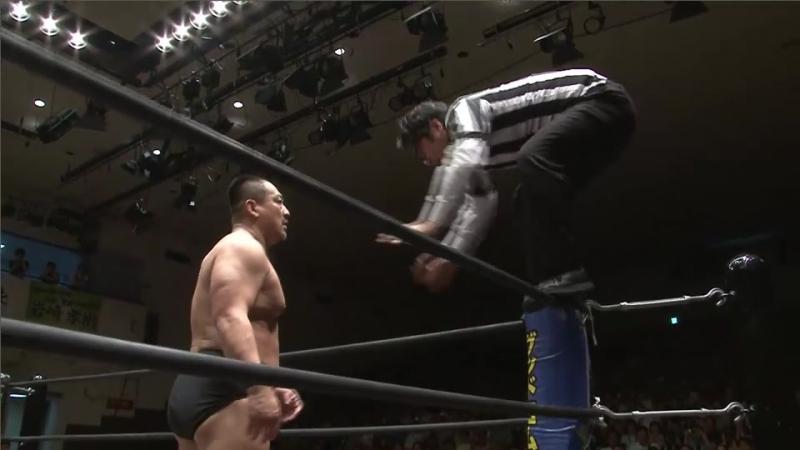 Sanshiro Takagi vs. Danshoki Dieno, Super Sasadango Machine, Ken Ohka (DDT - KING OF DDT 2017)