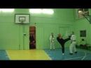 Отработка комбинаций ударов ногами и руками на Пэдах (1)