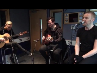 Poets of the Fall - Children of the Sun (Unplugged) @ XS Manchester Radio, 13.01.2017