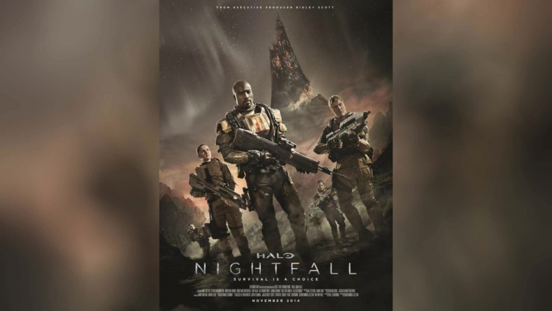 Halo Сумерки (2014) | Halo: Nightfall