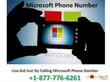Dial Microsoft Contact Number 1-877-776-6261 to Acquire Instant Help