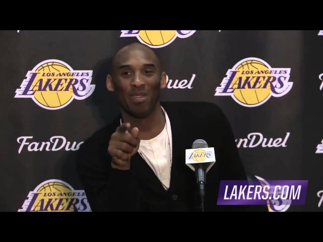 Dwyane Wade Interrupts Kobe's Postgame Interview | NBA Funny Moment 2016