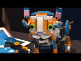 Learn to Build a Screaming Cat with LEGO Boost - CES 2017