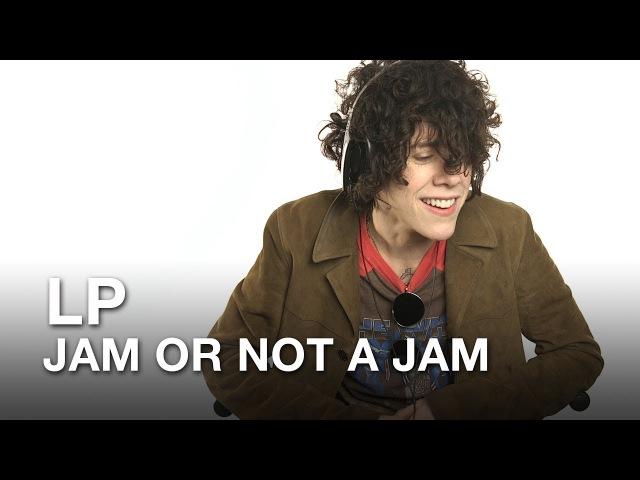 Musician LP plays Jam or Not a Jam!