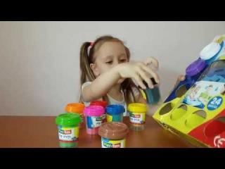 Распаковываем набор Play Doh Лепим Кроша и много других фигурок Видео для детей Melissa Tv