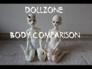 Body Comparison: Dollzone MSD Boy and Girl and another accident
