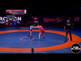 Заур Угуев vs Зохейр Эль-Куаррак - за бронзу ЧЕ 2017