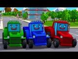 Синий Трактор ВРЕЗАЛСЯ В ГРУЗОВИК - Смотрим все серии - Новые Мультики про Трактор