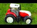 Мультик Трактор едет по Дороге Трактора для Детей Аграрные Машинки в Городке - М ...
