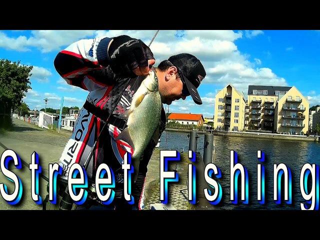 Street Fishing Berlin - Potsdam. Рыбалка в городской черте.