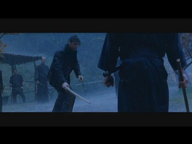 Last Samurai - Rain Fight Scene [HD]