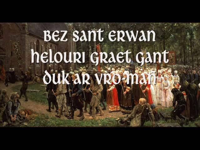 Pardon Sant Erwan (cantique breton)