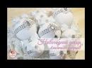 Новогодние украшения Шары на ёлку Покраска шаров и декор