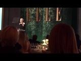 Dakota Fanning Honoring Kristen Stewart - ELLE WIH Chris Gardner Twiiter