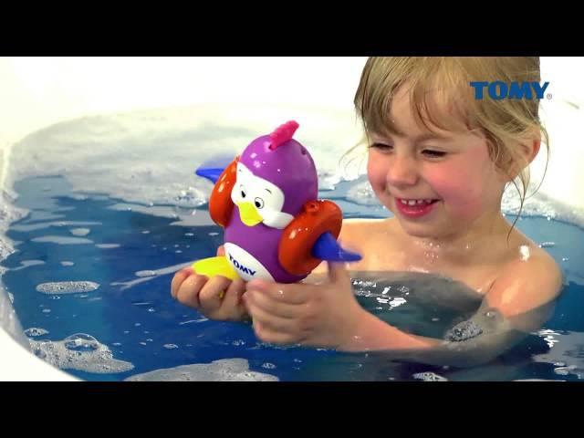 Игрушка для ванной «Плескающийся Пингвин» от компани TOMY