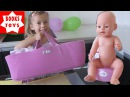 Беби Борн обзор сумка кроватка для Беби Борна Baby born