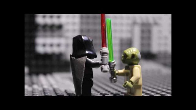 LEGO Star Wars Yoda vs Sith