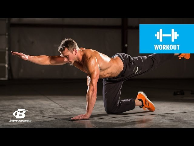 At Home Core Workout | Clutch Life Ashley Conrads 247 Fitness Trainer