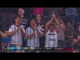 Manu Ginobili Receives Standing Ovation   Warriors vs Spurs   WCF G4   May 22 17   2017 NBA Playoffs