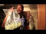 Снуп Догг с пакетами травы (Snoop Dogg sings with weed)