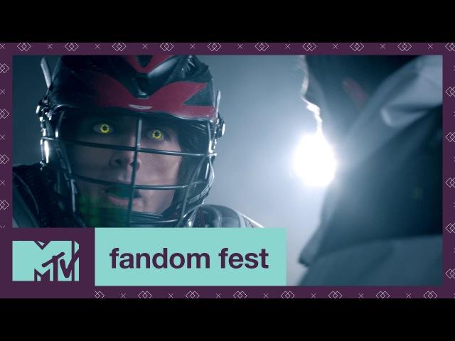 'Supernatural Lacrosse' Teen Wolf EXCLUSIVE Sneak Peek | Fandom Fest 2017 | MTV